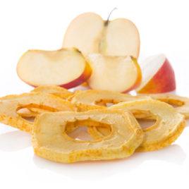 Apfelringli geschält