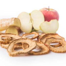 Apfelchips mit Ingwer
